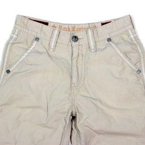 Rock Revival Shorts - Rock Revival Cargo Shorts Slim Fit Embellished